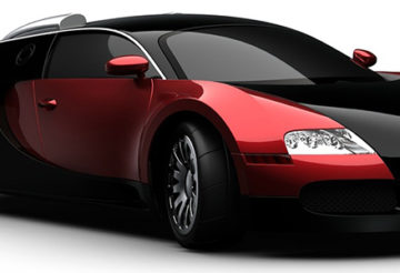pneus pour une voiture sportive