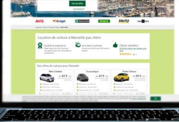 location de voiture à Marseille pas cher